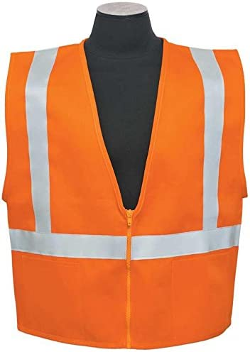ML Kishigo - 100% Cotton Safety Vest with D-Ring Access size: 4X-large