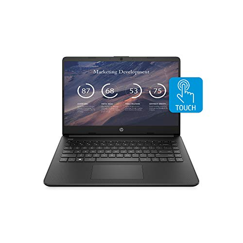 HP 14 Laptop, AMD 3020e, 4 GB DDR4 RAM, 64 GB eMMC Storage, 14-inch HD Touchscreen Display, Windows 10 Home in S Mode with Microsoft 365 Included for 1 Year (14-fq0050nr, 2020 Model)