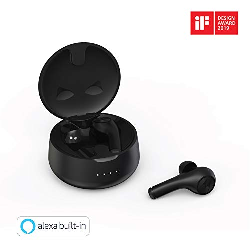 Motorola VerveBuds 500 True Wireless Bluetooth in-Ear Headphones - Works with Alexa - Black