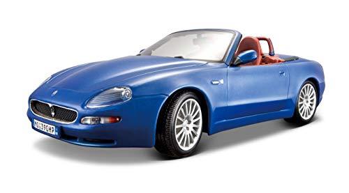 Bburago - 12019Bl - Véhicule Miniature - Modèle À L'Échelle - Maserati Gt Spyder - 2004 - Echelle 1/18