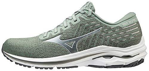 Mizuno Men's Wave Inspire 17 Running Shoe, Green Bay-Microchip, 10.5