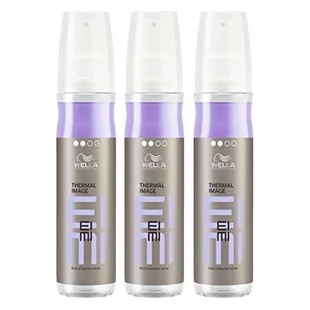 Wella, EIMI Thermal Image, spray per lo styling dei capelli, 3 x 150 ml, termoprotettore spray, professionale