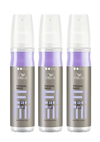 Wella EIMI Thermal Image 3 x 150 ml Smooth Styling Hitzeschutz Spray Professionals