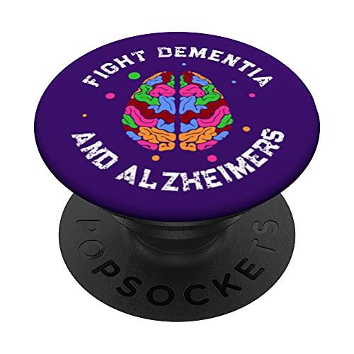 Apoye la concienciación sobre el Alzheimer EndalZ. PopSockets PopGrip Intercambiable