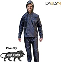 Daelyn Polyester Powerful Raincoat for Men with Zipper Bag (Extra Strong)