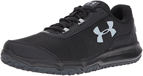 Under Armour Men's Toccoa Running Shoe, Stealth Gray (008)/Black, 10