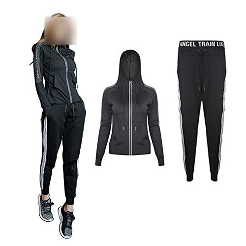 LIU Yoga Sport Clothing Suits Women's yoga 2-piece suit, soft, comfortable and quick-drying running jogging fitness exercise sportswear, jacket/trousers, women's sportswear suit, yoga suit, track suit