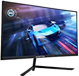 Sceptre IPS 27' LED Gaming Monitor G-to-G 1ms HDMI DisplayPort up to 144Hz AMD FreeSync Premium Build-in Speakers, Edgeless Machine Black 2021 (E275B-FPN168)
