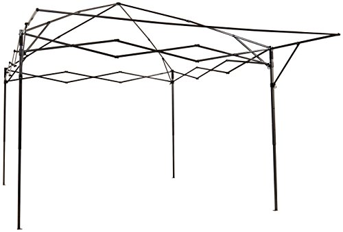 AmazonBasics - Carpa pop-up con paredes laterales, 3 x 3 m, azul 1