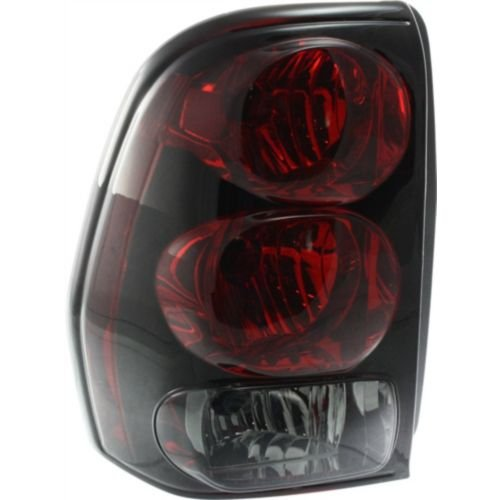 Make Auto Parts Manufacturing DOT/SAE Compliant Driver Side Clear and Red Lens With Bulb(s) Tail Light Assembly For Chevrolet Trailblazer 2002-2009 / Chevrolet Trailblazer EXT 2002-2006 - GM2800150