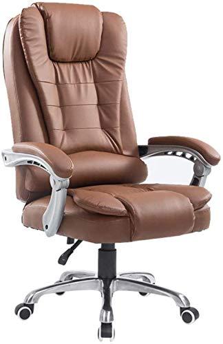 BeingHD Qualitätsbürostuhl, Bürostuhl mit Armlehne Bürodrehstuhl, hohe Rücken Computer-Schreibtisch-Stuhl Ergonomischer Administrative Task-Boss-Manager Spiel Chair