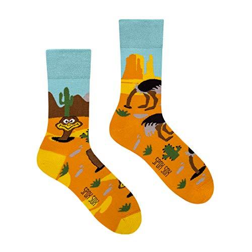 Spox Sox Casual Unisex - mehrfarbige, bunte Socken für Individualisten, Gr. 40-43, Strauß