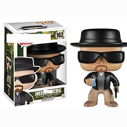 Serie De Películas Figuras Pop Breaking Bad Heisenberg # 162 10Cm Figura De Vinilo Colección...