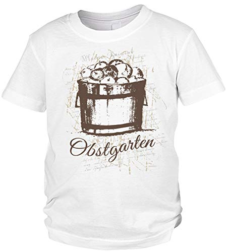 Jungen T-Shirt mit Äpfel-Druck: Obstgarten