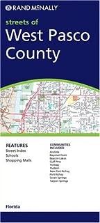 Rand Mcnally Pasco County, Florida: Local Street Detail (Rand McNally Folded Map: Cities)