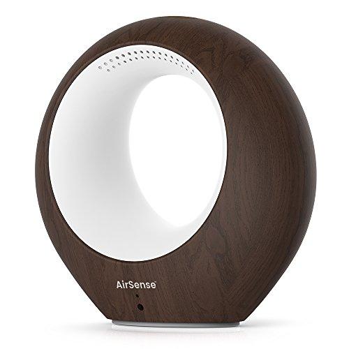 iBaby Airsense Smart Baby Audio Monitor, Temperature, Humidity & VOC Detector, Darkwood
