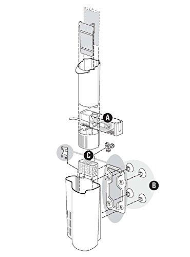 Tetra EasyCrystal Filter Box 300 Aquarium-Innenfilter (mit Heizerfach für kristallklares gesundes Wasser, einfache Pflege, keine nassen Hände beim Filterwechsel, intensive mechanische biologische chemische Filterung), geeignet für Aquarien von 40 bis 60 Liter - 7