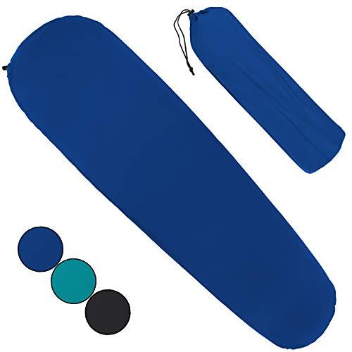 ALPIDEX Selbstaufblasende Isomatte 183 x 51 x 3 cm Outdoor Camping Matte Leicht Schlafmatte Wandern inkl. Packsack, Farbe:Balance Blue