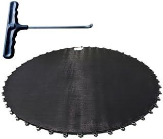 72 Ösen und 135mm Federn AREBOS Sprungmatte Ø 323cm für Trampoline mit Ø 366cm
