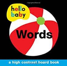 Hello Baby: Words: A High-Contrast Board Book