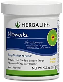 Herbalife Niteworks Powder Mix Trial Size 5.3 oz Original Flavor (Kosher Parve)