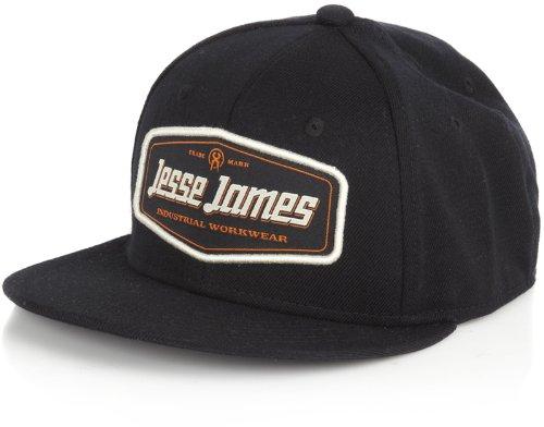 Jesse James Cap Flatbill Black