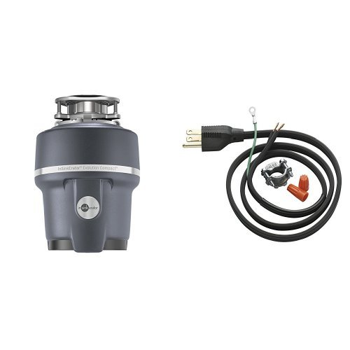 InSinkErator Evolution Compact 3/4 HP Household Garbage...