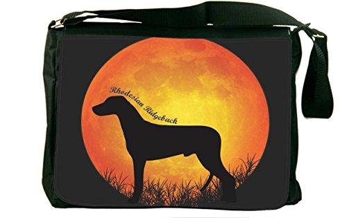 Rikki Knight I Love My German Pinscher Dog Messenger Bag School Bag