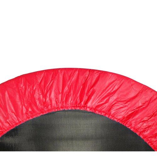 Upper Bounce Coprimolle Tappeto Elastico, Adatto per Telai da 1016 cm, Copertura Bordo Imbottitura Protettiva, Copri Bordo Cuscino per Mini Trampolino di Colore Rosso