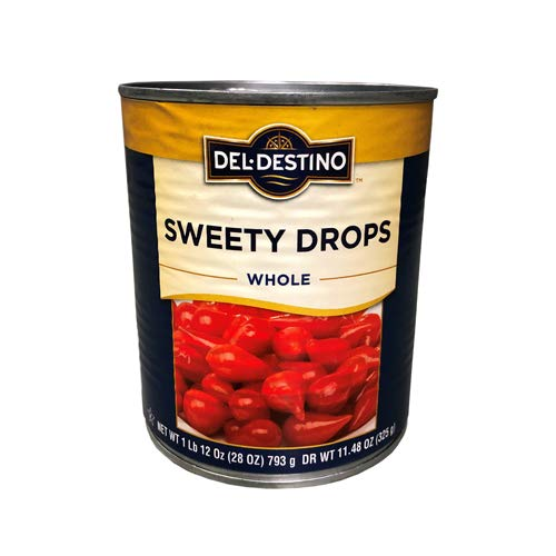 Sweety Drop Miniature Peppers - 28 oz (Pack of 6)