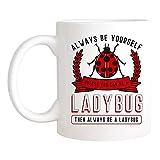 Saviola - Future Entomologist Mug, Insect Entomology Mug For Ladybug And Beetle Lover, 11oz Novelty Coffee Mug/Cup