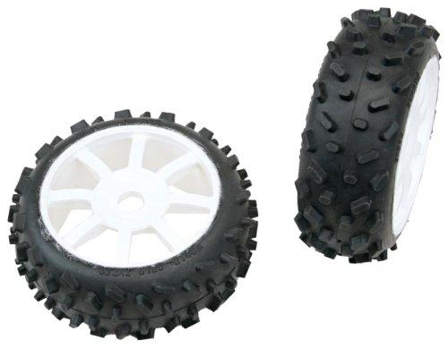 Graupner 96007 - Zubehör - Quartz 1/8 Buggy Reifen, verklebt 2 Stück