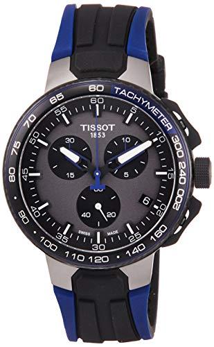 Tissot T-Sport Herren-Armbanduhr 44.5mm Armband Silikon Quarz T1114173744106