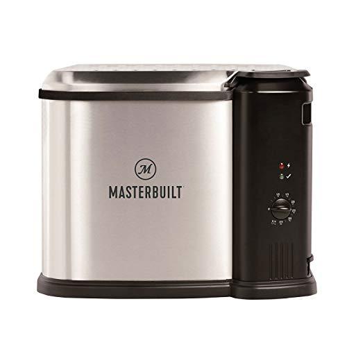 Masterbuilt MB20010118 Electric 3-in-1 Deep Fryer Boiler S...