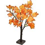 LED Ahornblatt Baum Licht,Weihnachten Christbaum Lichterbaum Weihnachtsbeleuchtung,50cm 24 LEDs...