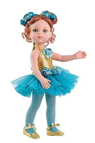 Unbekannt Paola Reina Puppe in Carol Ballerina - AMIGA 32 cm 31 cm Mehrfarbig (34448