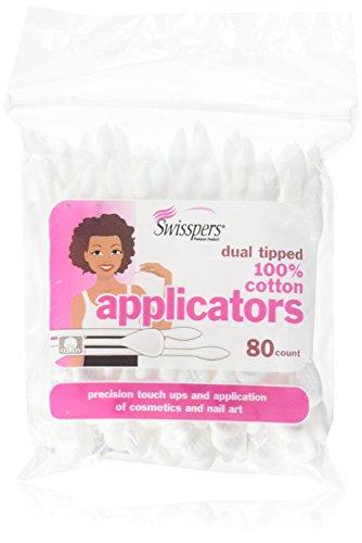 Swisspers Premium Cosmetic Applicators - 80 ct by Swisspers