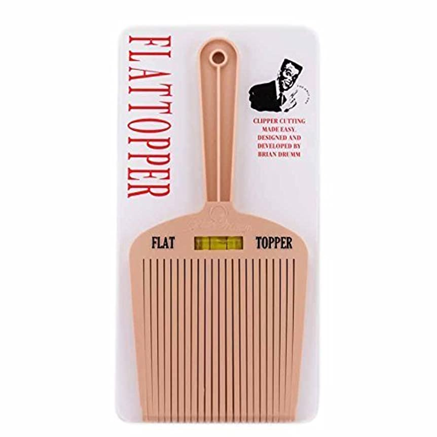 道を作る出版よろめくBrian Drumm Flattopper I Machine Comb, White [並行輸入品]