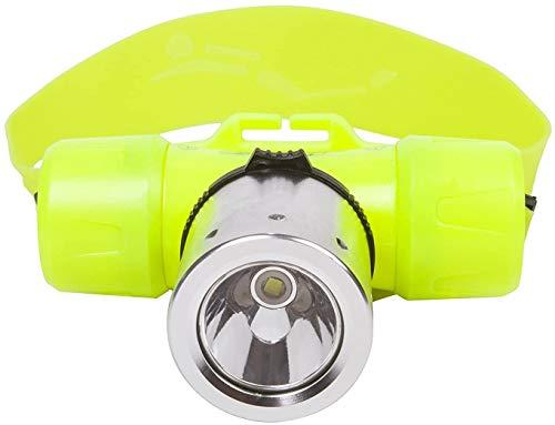 Hangang Jaune plongée sous-marine Étanche LED Head Light Lampe torche étanche lumière lampe LED étanche lumière (batterie non inclus)