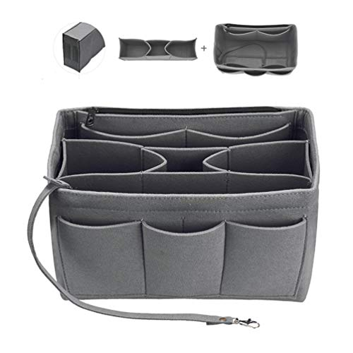 Tote Organizer Insert, Bag Organizer Insert, Felt Handbag Organizer,Insert Purse Organizer Fits Speedy