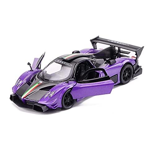 YLJYJ Modellino Auto Pagani Zonda R 1:32 Modellino in Lega Modellino in Scala Modellino pressofuso Collezione di Modelli Regalo Decorativo Collecti (Smart Car)