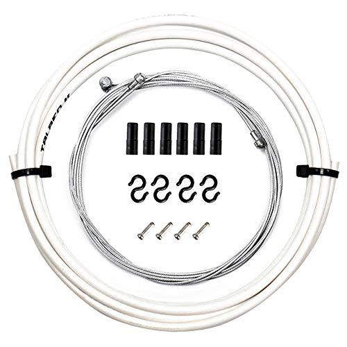 Bestine - Juego de cables de freno de bicicleta para bicicleta de...