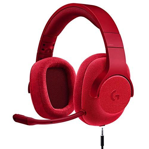 Faus Koco Gaming Headset for for PS4, PC, Xbox One, Profi-Noise Isolation Über Ohr-Kopfhörer Mit Mikrofon,...