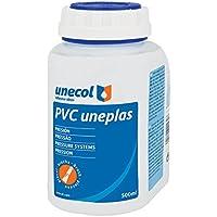 Unecol 2023 Adhesivo especial para tubería (bote de plástico con pincel), Transparente, 500 ml