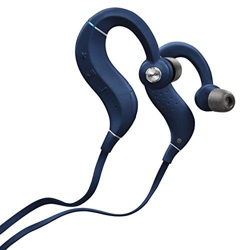 Denon AH-C160W Wireless In-Ear Sportkopfhörer (Bluetooth, Aktives Noise Cancelling, 11,5 mm Treibergröße) blau