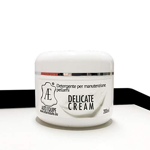 Crema per Prodotti in Pelle nutriente e detergente: divani, Interni Auto, mobili, Confezione da 200ml