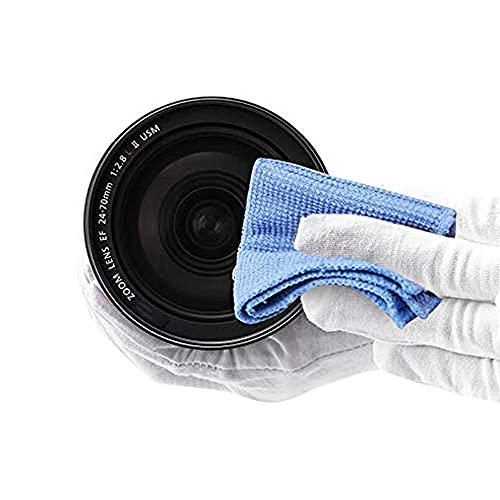 Kit de Limpieza para cámara SLR, bolígrafo de Limpieza de Cabezal de carbón Doble + soplado de Aire + paño de Limpieza de Tres Piezas Tres en uno - Negro 1 TAMAÑO