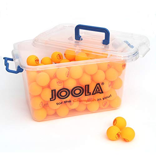 JOOLA Unisex – Erwachsene Training 40+ Tischtennisbälle, orange, One-Size