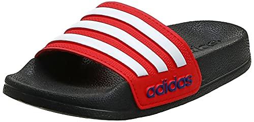adidas Adilette Shower K, Chanclas, NEGBÁS/FTWBLA/Rojint, 35 EU