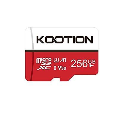 KOOTION 256GB Micro SD Card 256 gb U3 Ultra TF ...